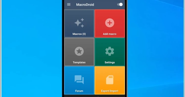 MacroDroid - Device Automation: Automate your tasks on your smartphone or tablet