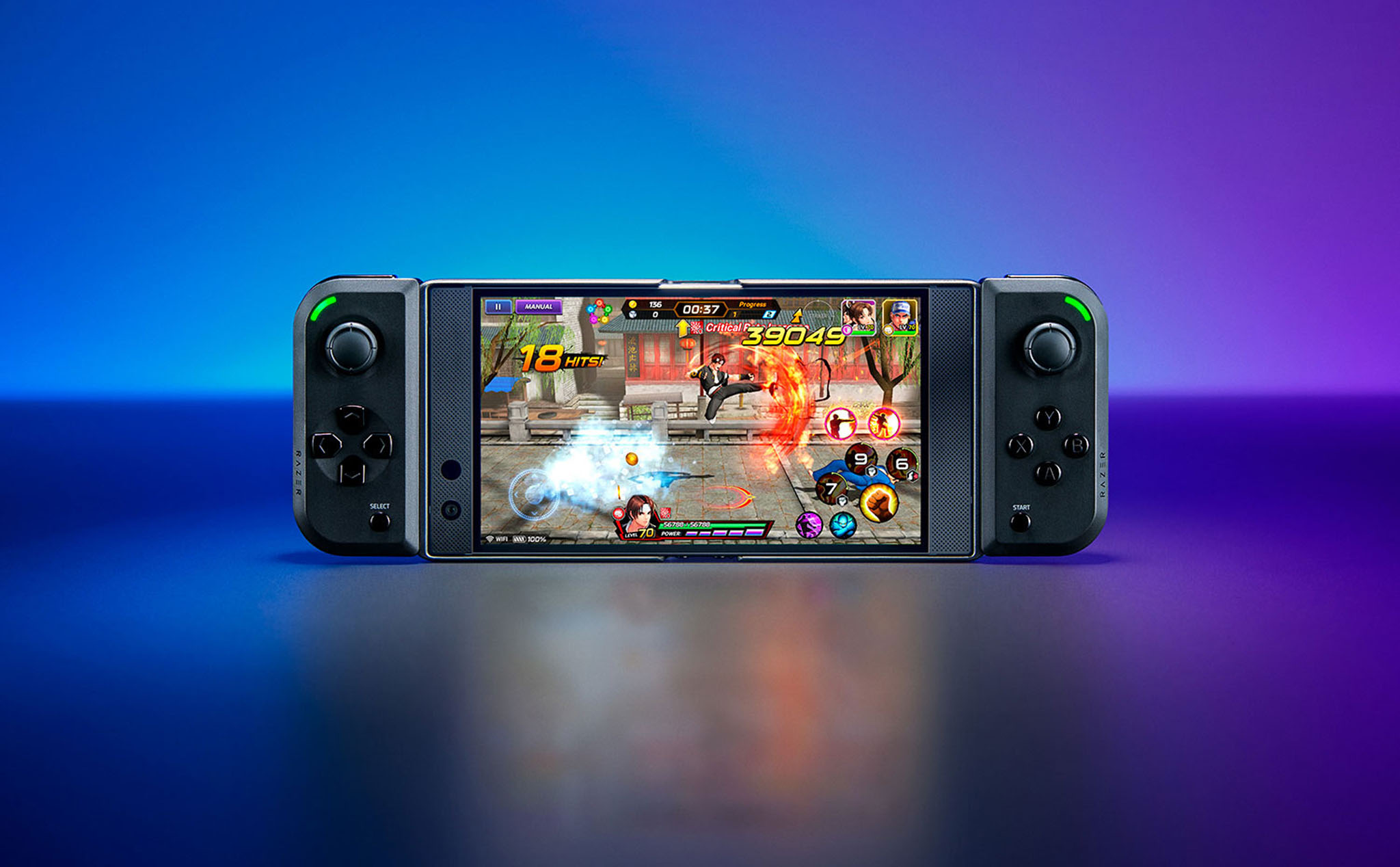 Razer Junglecat: Hand press the same texture game Switch for Android, priced at 99 USD