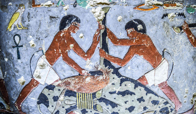 Stunning images inside the 4,000-year-old ancient tomb of Egypt - Photo 1.
