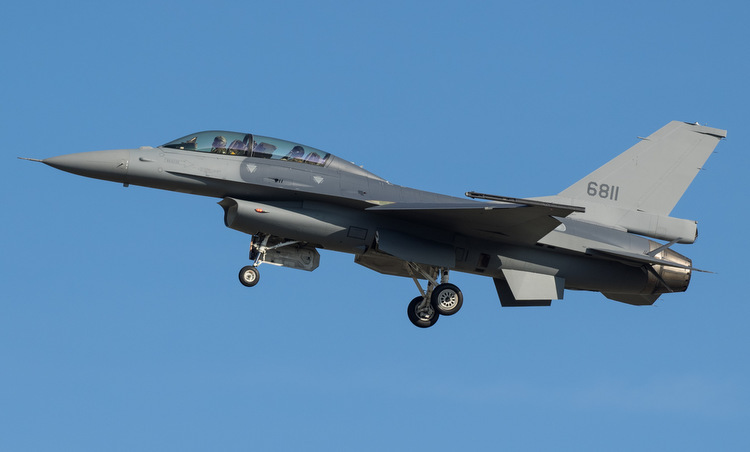 F-16V fighters were upgraded to Taiwan by the US earlier this year. Photo: Airliners.