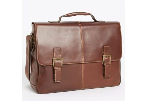 boconi leather briefcase lawyer