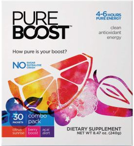 energy drink mix pure boost