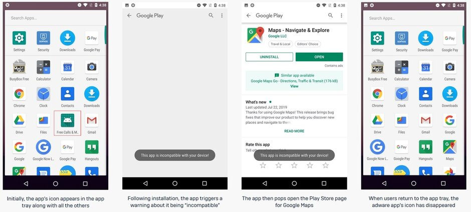 How this adware works when installed on an Android phone - These 15 Google Play Store apps need to be deleted now-if you can