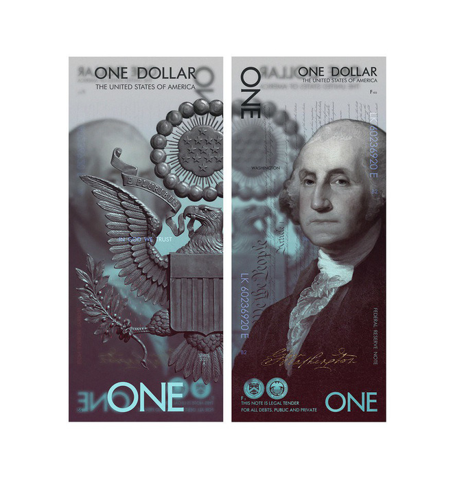 What would a USD money look like if it were taken care of by industrial design professionals - Photo 2.