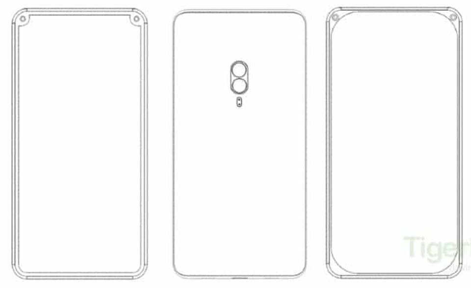 Sforum - Xiaomi's latest technology information page patent-1 Xiaomi has patented a smartphone with dual selfie camera