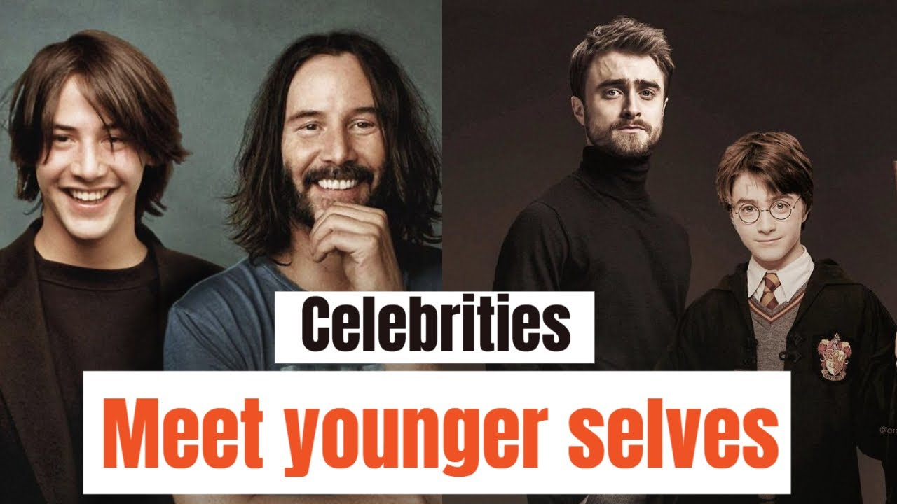 30 Famous People ★ Then And Now ★ Celebrities Meet Their Young Selves