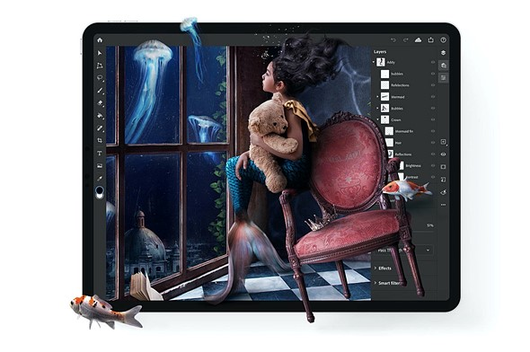 Adobe fulfills its promise: Photoshop on iPad is officially here: Digital Photography Review