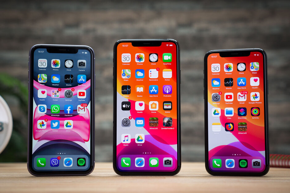 The iPhone 11 series - Apple
