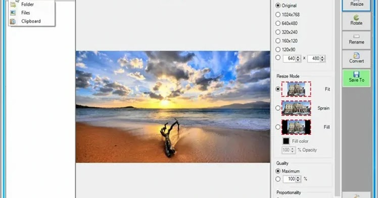 FFlexxi Resizer: Resize, rotate, rename, and convert your images