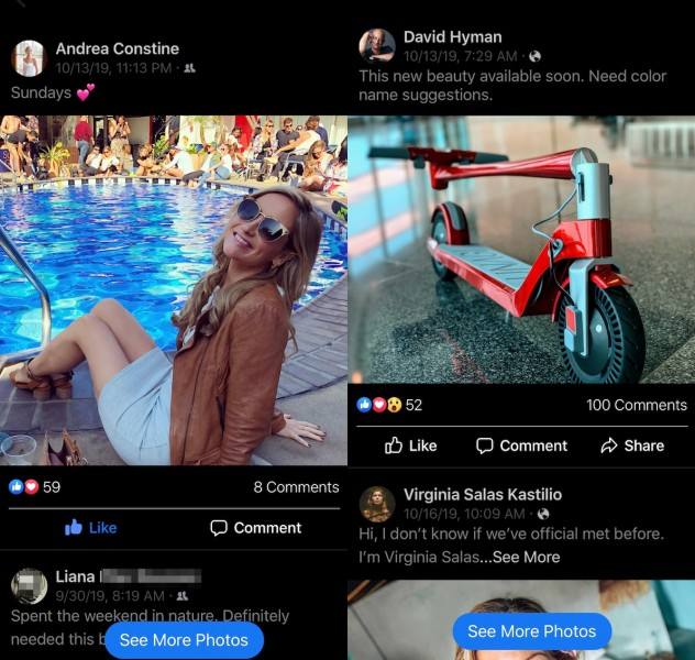 Facebook tests Instagram feed-like feature called