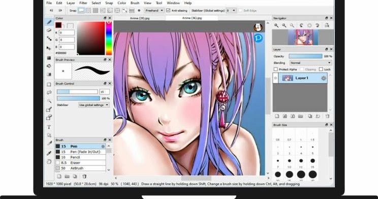 FireAlpaca: Painting software for Mac and Windows