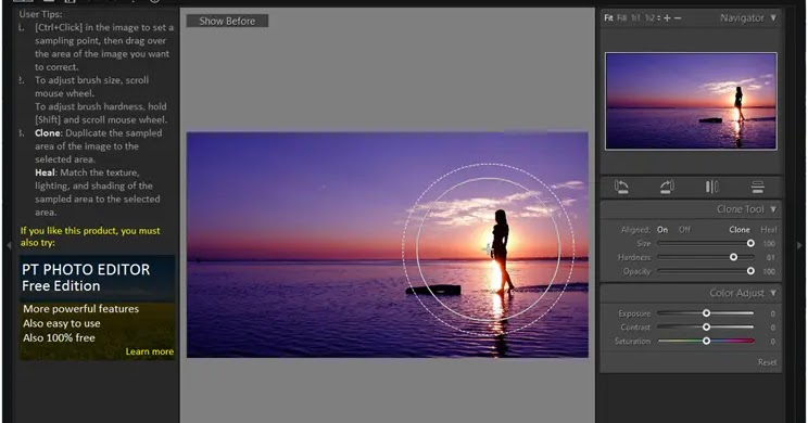 Free Clone Stamp Tool: Remove unnecessary items from your photos