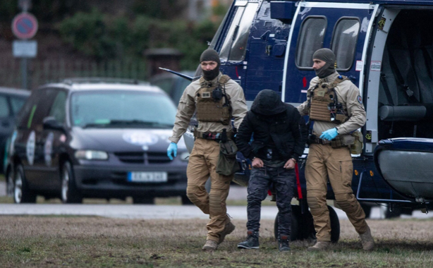 German task force arrested an Iraqi refugee suspected of plotting a bomb in January. Photo: DPA