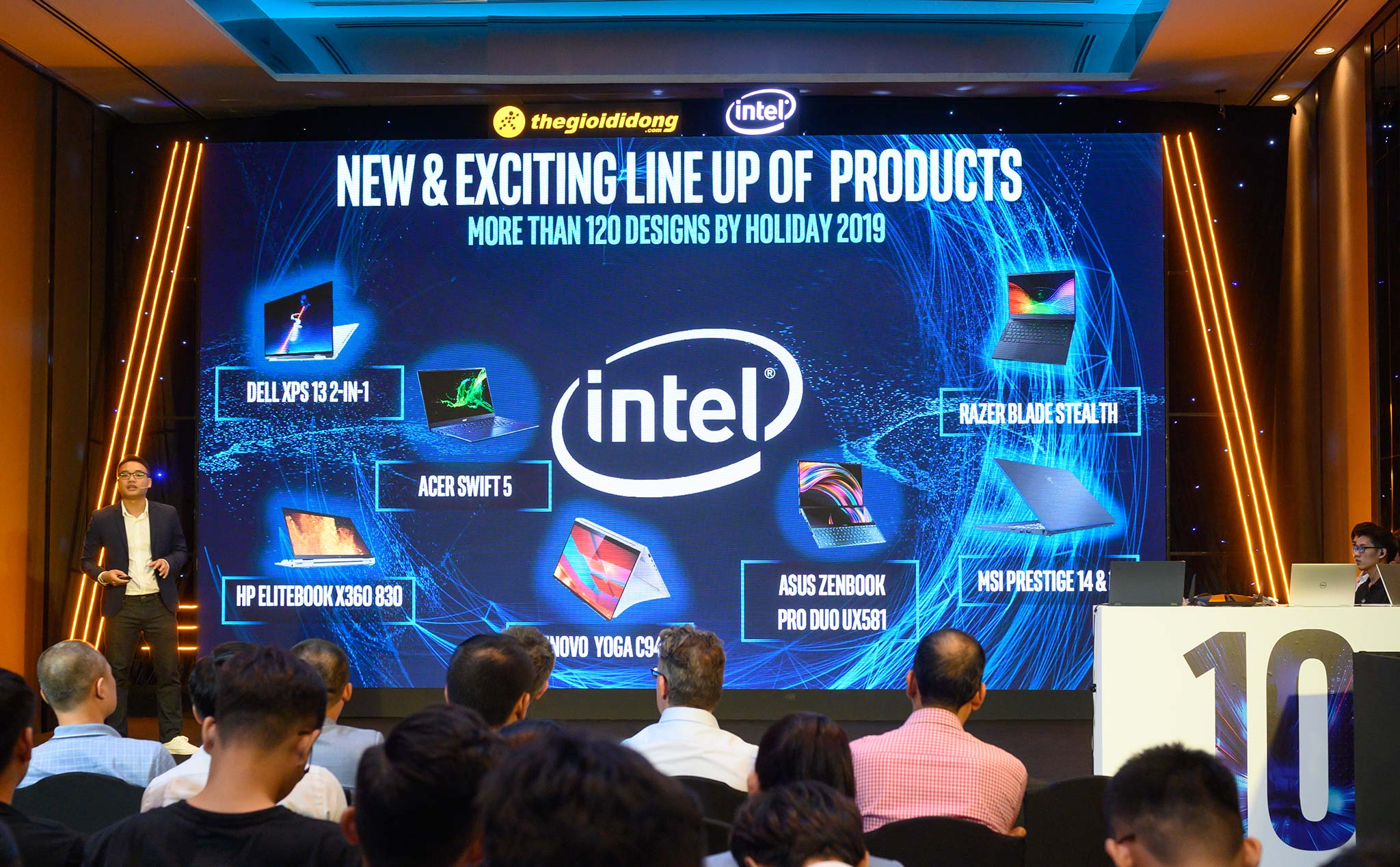 Intel and Mobile World present the series of laptops using the 10th generation Intel Core platform