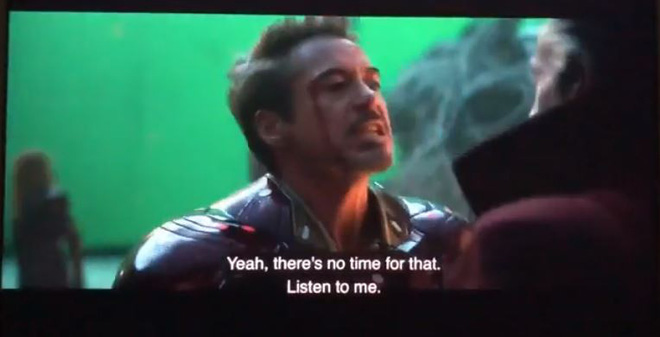 Marvel announces cut scenes of the final battle in Endgame: Iron Man that almost fights each other with Doctor Strange - Photo 2.