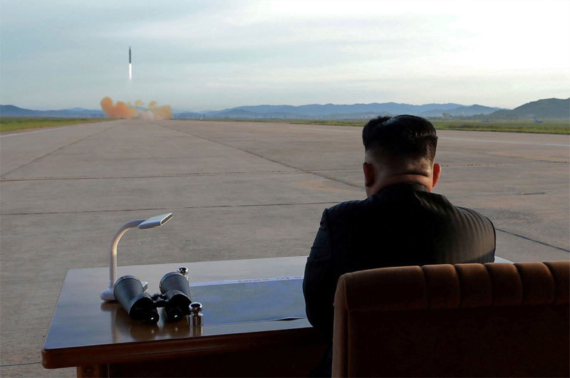 Kim Jong Un's intention when trying super weapons