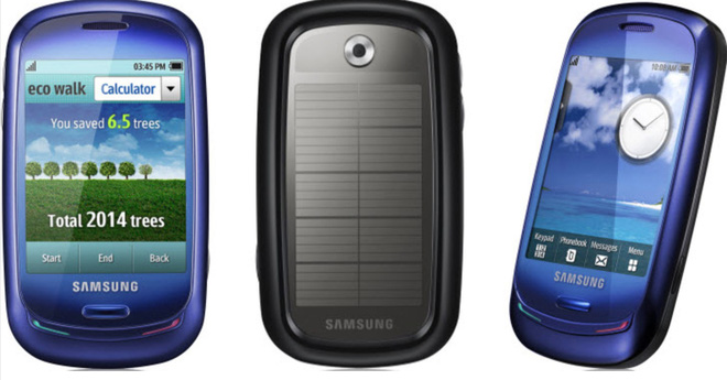 Looking back at Samsung Blue Earth: the phone born quietly in the environment green - clean - beautiful - Photo 1.