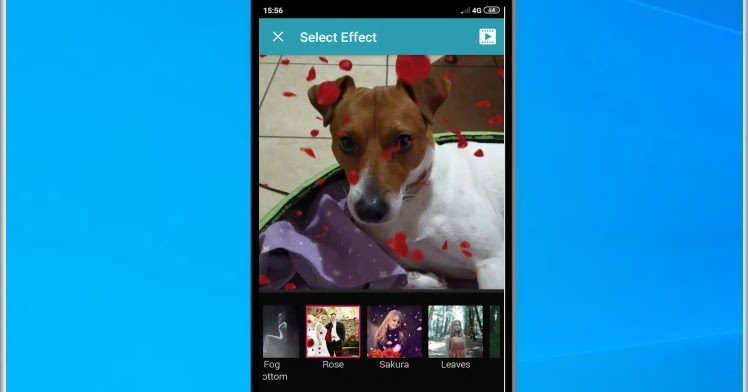 Nature Photo Effects Maker: Add animated photo effects to your photos
