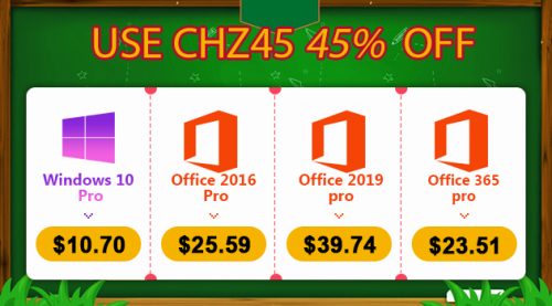 Own Windows 10, Office 2019, Office 365 with discount codes up to 45%, only from VND 250,000