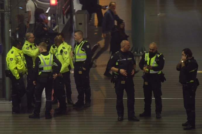 Panic enveloped the airport in the Netherlands for a false hijacking alarm