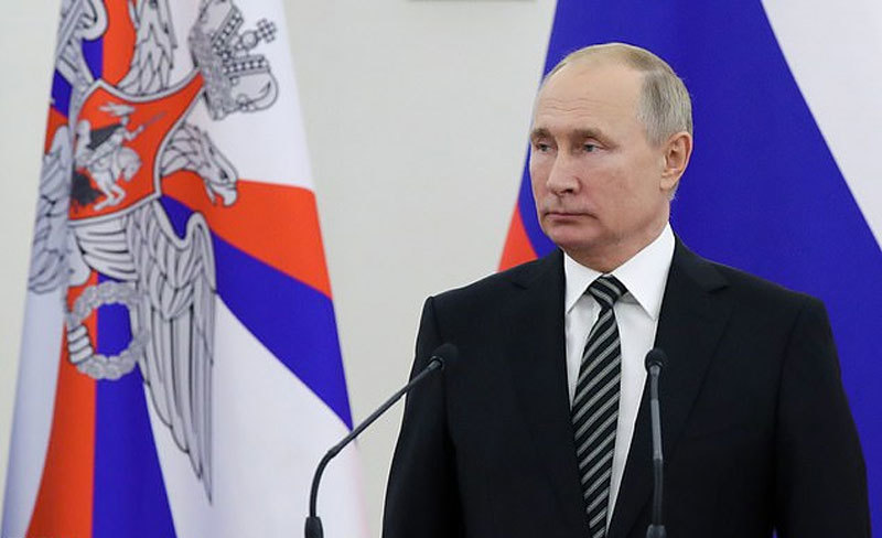 Putin shows off weapons 'only Russia has'