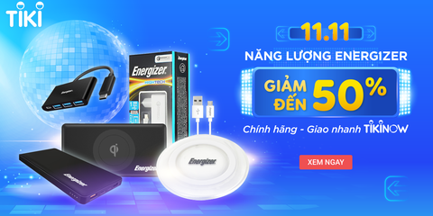 [QC] Give your best - Voucher with the Energizer - Tiki 11.11