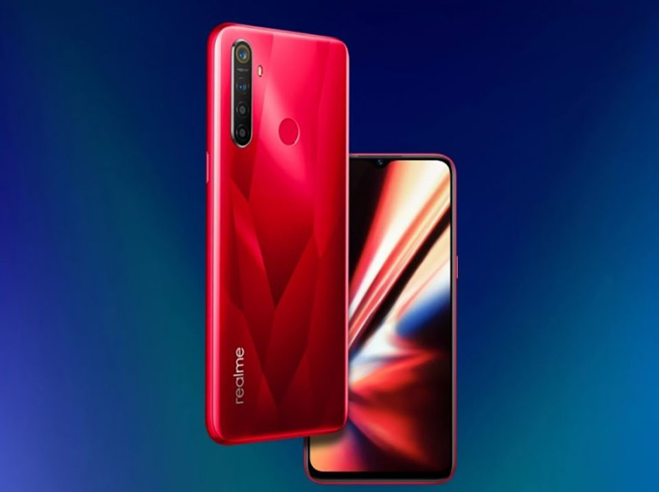 "Sforum - Latest technology information page Realme-5s-1 Realme 5s revealed a teaser image, confirmed with a water drop screen, a ""huge"" 5,000 mAh battery"