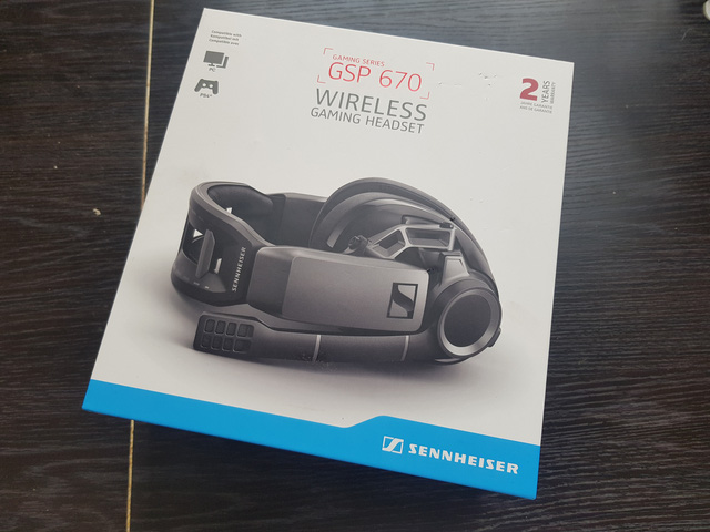 Sennheiser GSP 670 wireless gaming headset, dedicated to money gamers, is not an issue - Photo 1.