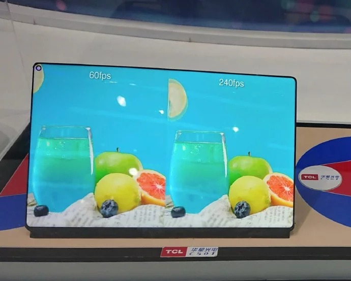 Sforum - TCL-WQ-Gaming-Tablet-display TCL WQ's latest technology information page shows real photos: Gaming tablet, 240Hz screen, punched design