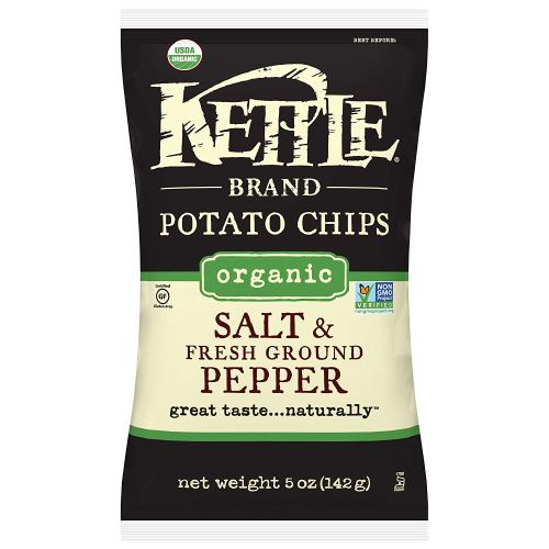 best potato chip brands kettle salt and pepper