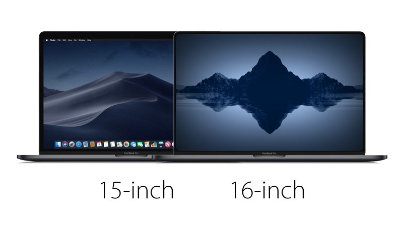 Sforum - Latest technology news page 16inchrmbpcomparison-1 16-inch MacBook Pro is available for sale but the exact time is not available