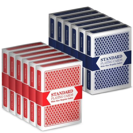Drybelly Wide-Size Regular Index Playing Cards