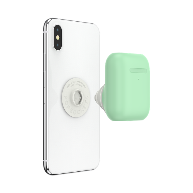 It's hard but still do: PopSocket launches a hook attached to the phone containing the Airpods box - Picture 1.
