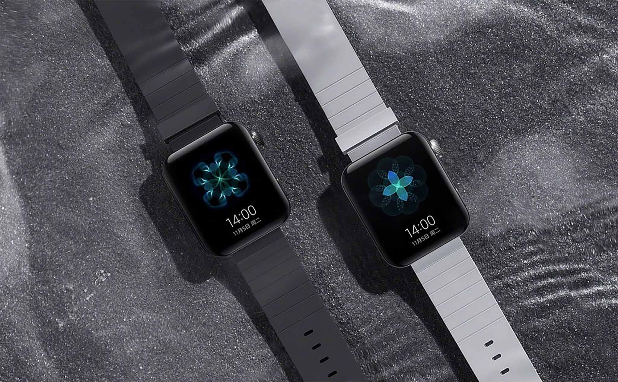 This is a smartwatch running Xiaomi's MIUI for Watch, which will be released on November 5 with Mi Note 10