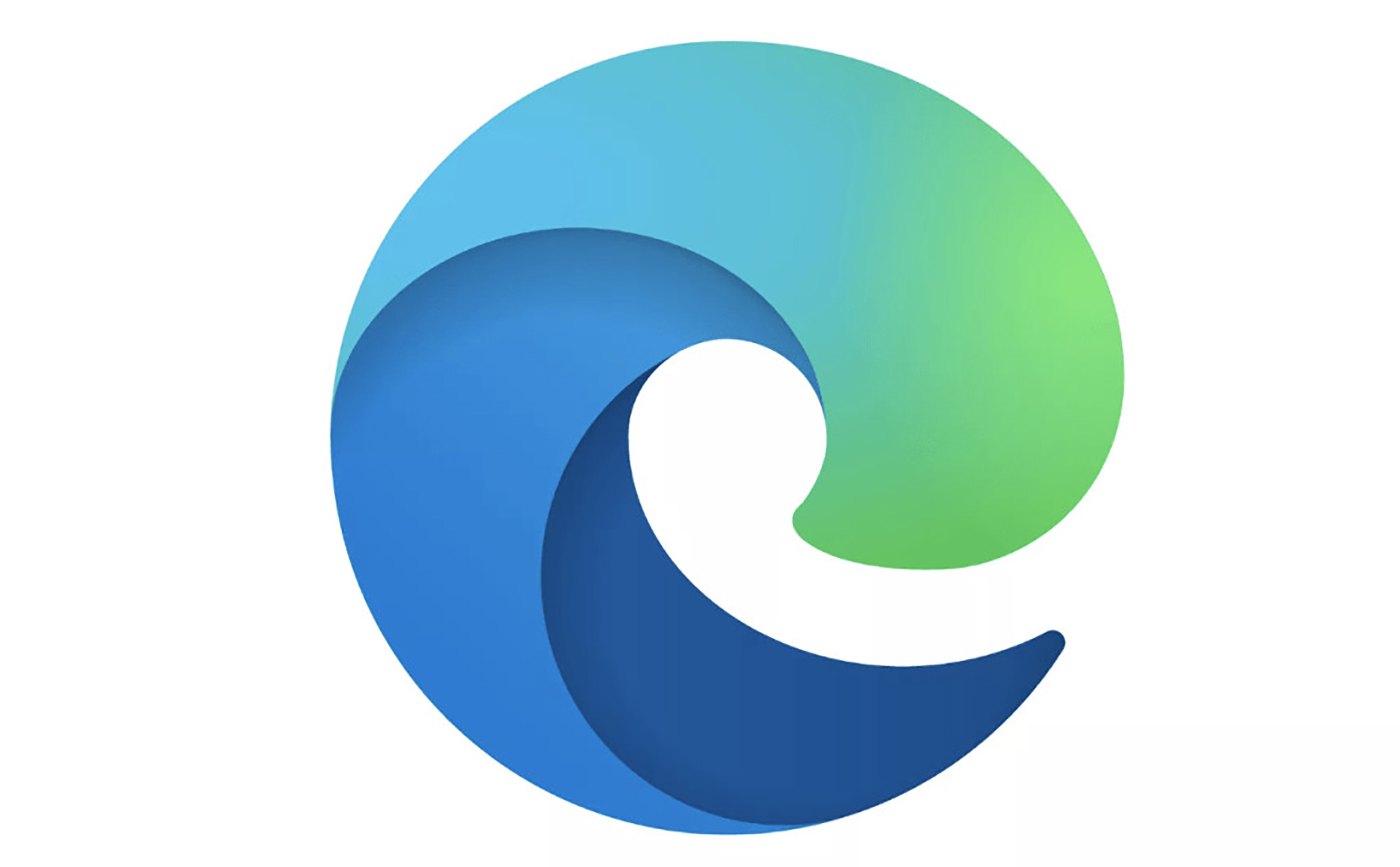This is the new logo of Microsoft Edge browser based on Chromium