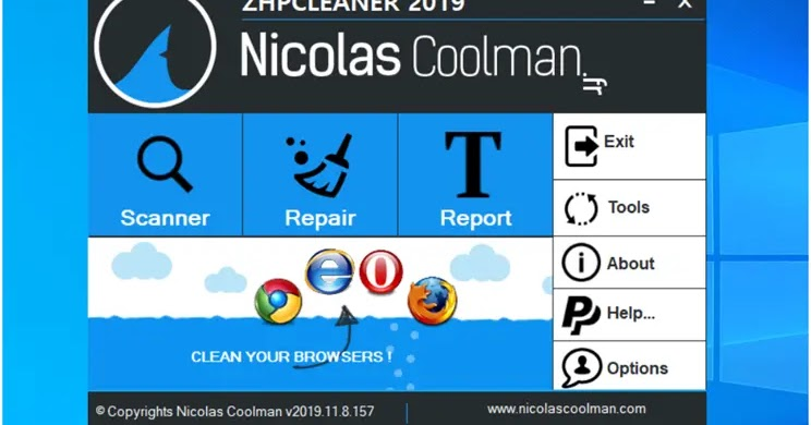 ZHPCleaner 2019: Find and delete pirated browser and redirect software (hijackers)