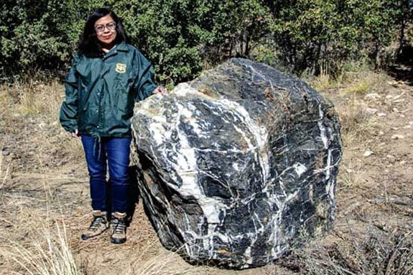 'Witch stone' re-appears after mysterious disappearance in the US forest