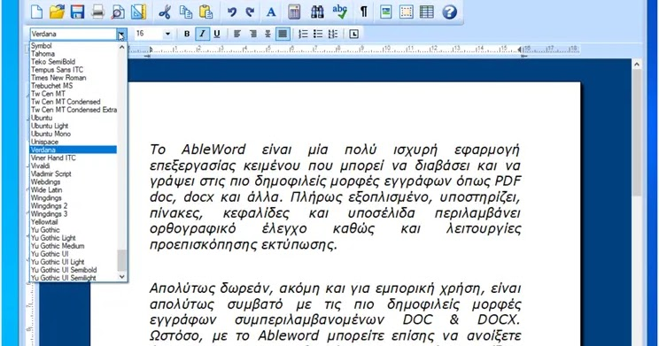 AbleWord: Convert PDFs to Word documents