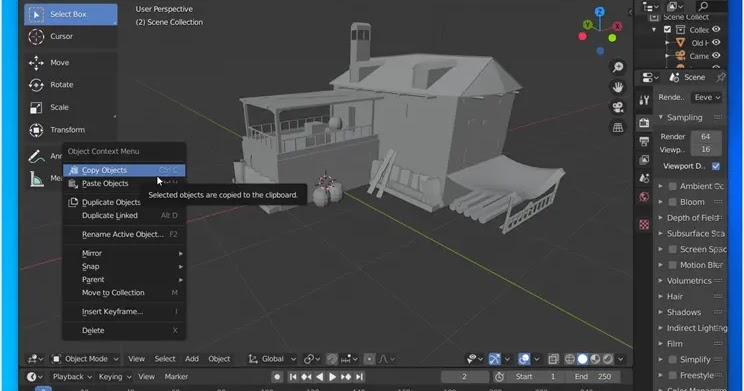 Blender: Top free program for creating 3D objects