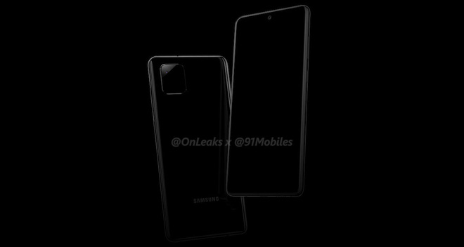 Galaxy Note 10 Lite revealed: Square camera cluster, 3.5mm headphone jack, chip like Note 9 - Photo 1.