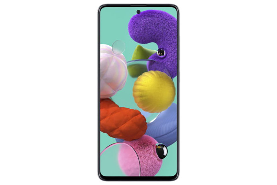 Sforum - Latest technology information page Samsung-Galaxy-A51-rendered-image-1 Galaxy A51 revealed with equally beautiful design, Galaxy Note 10, will be released on 12/12?