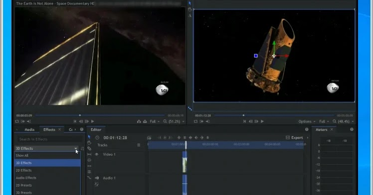 HitFilm Express: Video editing with professional visual effects