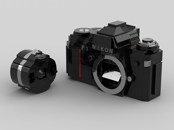 LEGO Ideas design recreates the iconic Nikon F3 out of plastic bricks: Digital Photography Review