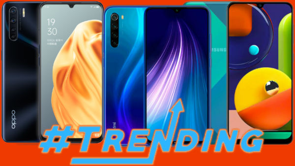 Most Trending Smartphones Of Last Week: Galaxy A71, Redmi Note 8 Pro, Redmi K30, Galaxy A01 And More
