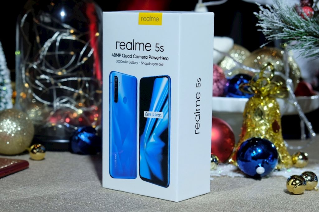 Realme 5s launched, upgraded cluster of 4 cameras, priced at 4.99 million