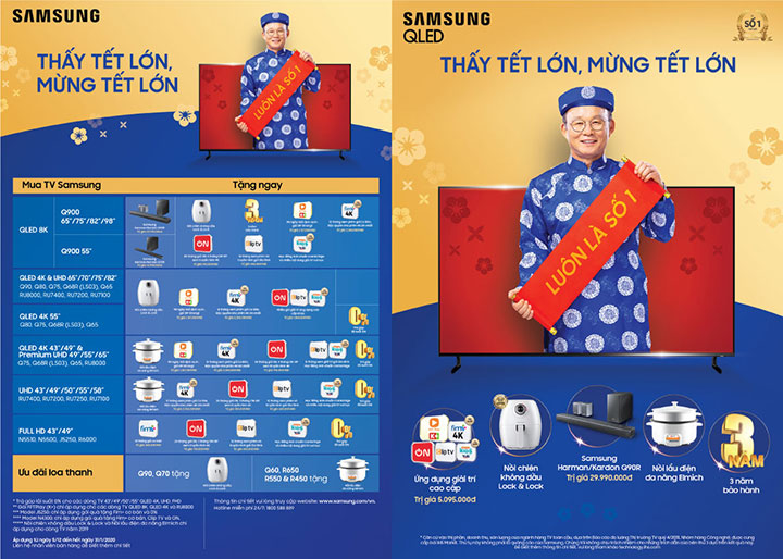 Samsung sells 65-inch TVs at 55-inch and 55-inch TVs at 49-inch ... Tet - VnReview