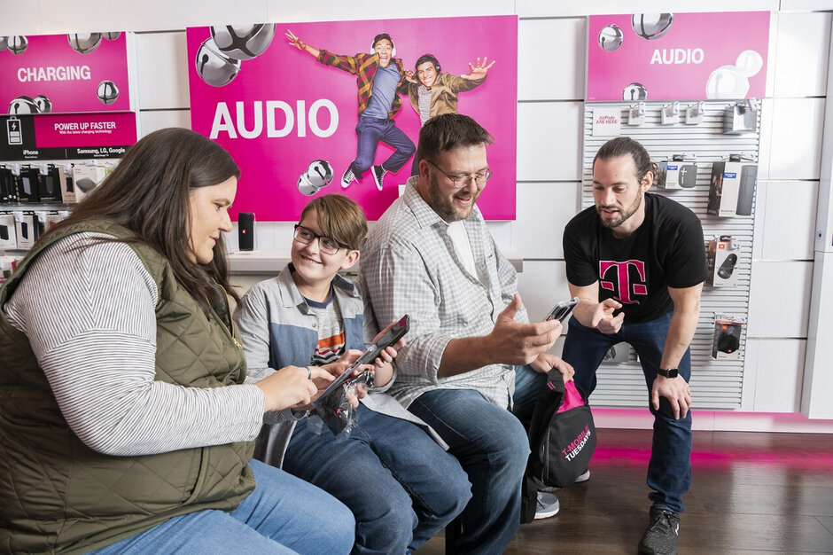The Kotzatoskis are T-Mobile