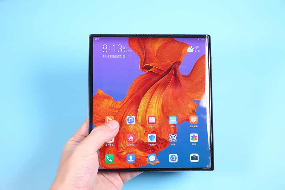 Sforum - huawei-mate-x2-1 latest technology information page The Huawei Mate X2 super-screen could be launched in the second half of 2020