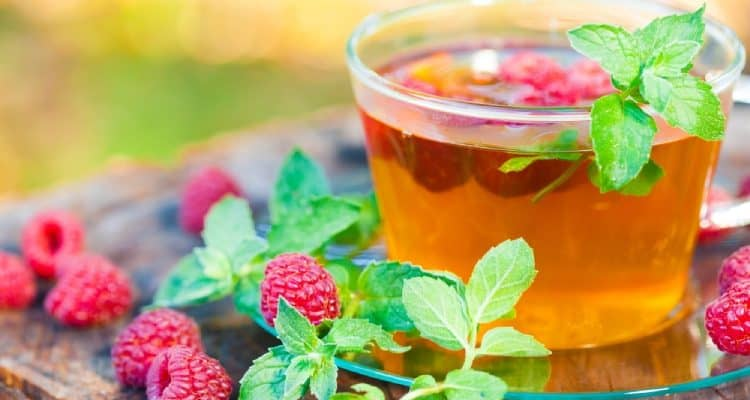 Raspberry leaf tea and benefits for pregnant women