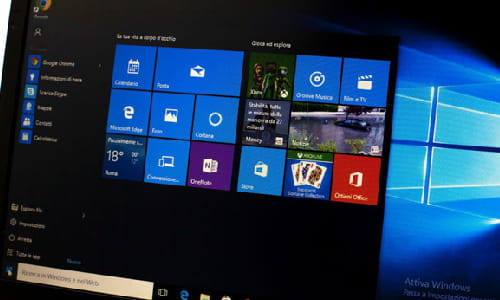 How to customize dynamic blocks in Windows 10